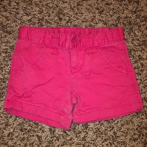 5T Faded Glory pink shorts